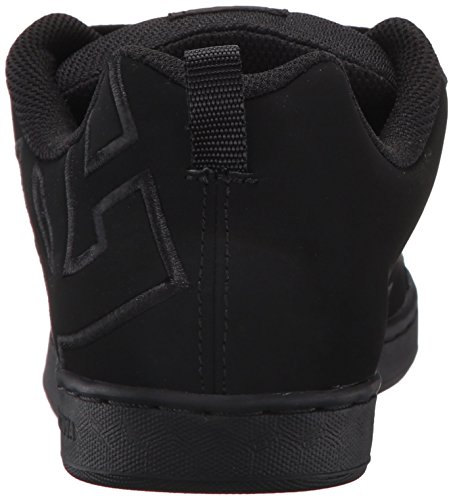 Pictures of DC Kids Youth Court Graffik Skate Shoes Black/Black/Black 8