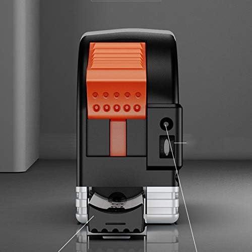 XWYJC 30M Infrared Steel Tape Measure ligent Distance Meter Distance Meter Digital Electronic Infrared High Precision Distance Me 6JC83 (Color : Black) Black