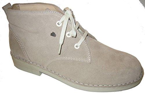 Finn Comfort - Zapatos de cordones de Piel para mujer Gris gris Gris - Rock/Velour
