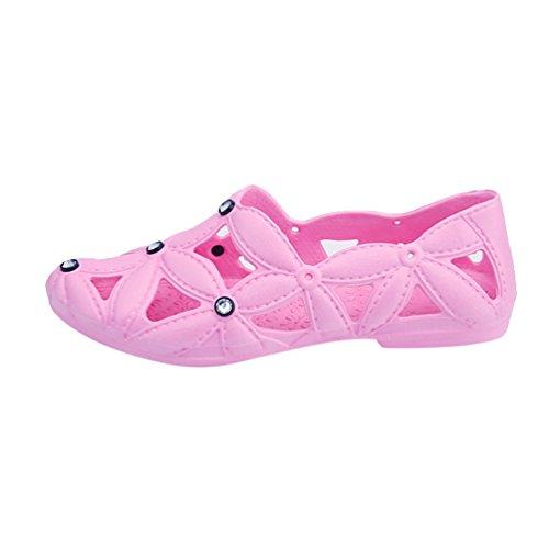 Freien Schnelltrocknend Leicht GehendeSchuhe Pink Pantoffel Strand Damen Männer Pool Clogs Schuh Lvguang Rutschfeste Wasserschuhe qSRCYtn
