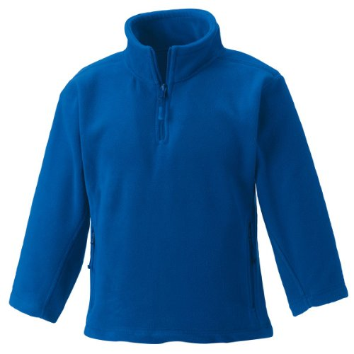 Jerzees Schoolgear Kinder 1/4 Zip Outdoor Fleece Leuchtend Königliche 3-4 Yrs