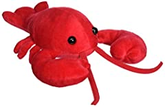 Mary Meyer's Lobbie the Lobster is unique in style and softness, from his perfectly red body, to his shiny black eyes and embroidered mouth. At 10 inches long from his feelers to his tail, Lobbie the Lobster is just the right size for long cu...