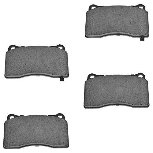 Front Ceramic Brake Pad Set Kit for EVO WRX STI S60 V70 CTS-V STS-V G8 Cadillac Heavy Duty Brake Pad