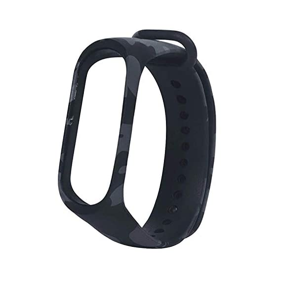 DRYPHON DBS07 Smart Watch Band Strap for Xiaomi MI Band 3 & MI Band 4 [Device not Included] (Army Grey)