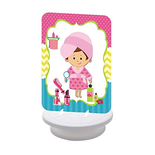 Spa Party. Spa Party Birthday Decorations for Girls. Spa Day. Includes Party Hats, Centerpieces, Bunting Banner, Danglers and Cupcake Toppers. by W&N Distribution (Image #2)