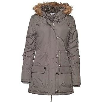 c73cb9bdea9 Parka Khaki Khaki Fluid Womens Parka Jacket Khaki - 10 UK 10 Bust 34 Euro  36: Amazon.co.uk: Clothing