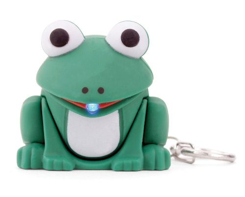 Frog LED Keychain - with ()