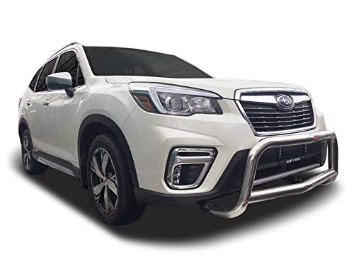 Broadfeet Front A-Bar Bumper Guard Stainless Steel For 2019-2021 Subaru Forester ()