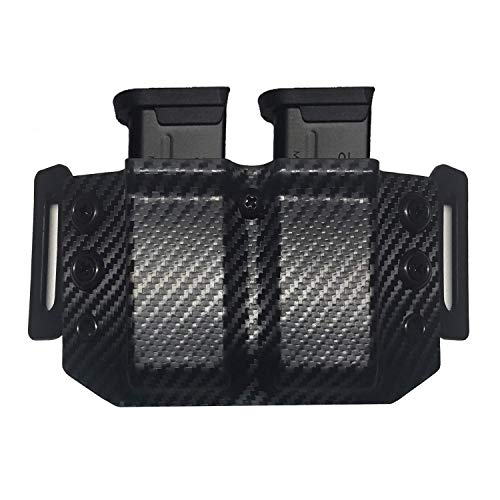 - Elite Force Holsters: Kydex Mag Pouch Holder for SCCY CPX-1 CPX-2 9MM Magazines - Carbon Fiber