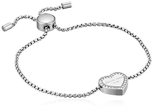 Michael Kors Women's Stainless Steel Slider Bracelet