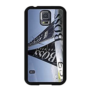 Delicate Useful Cover Case Luxury Hugo Boss Phone Case Snap on Samsung Galaxy S5 I9600 Hugo Boss Logo Cover