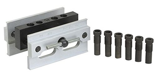 Self Centering Doweling Wood Jigging Dowel Drill Hole Jig Fixture 1/4'' to 1/2'' by PMD Products