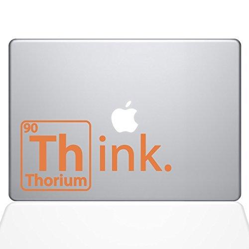 【はこぽす対応商品】 The Decal Guru Think Vinyl Thorium Macbook Decal - Vinyl Sticker The - 11 Macbook Air - Orange (1254-MAC-11A-P) [並行輸入品] B0788G57DM, ハグリグン:26c8177b --- a0267596.xsph.ru