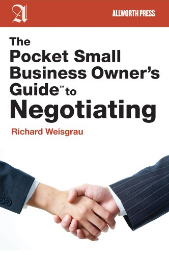 The Pocket Small Business Owner's Guide to Negotiating (Pocket Small Business Owner's Guides) cover