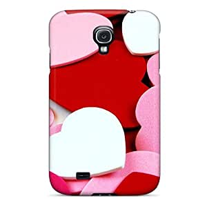 AlfredJWhite ACmlplf3780xboBd Protective Case For Galaxy S4(tons Of Hearts)