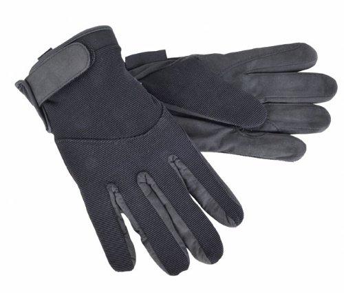 HKM Reithandschuh Thinsulate Winter, Grösse M, schwarz