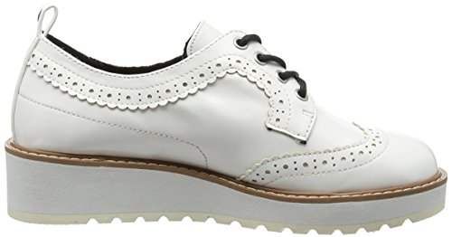 Blanco Zapatos Cordones De Jeans Pepe 800 Para Basic Mujer white Ramsy qp8Pt