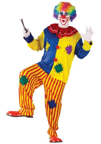Plus Costumes Big Clown Top (Big Top Clown Adult Costume - Plus)
