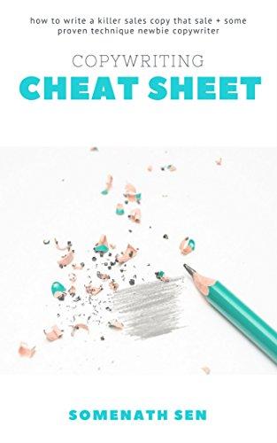 Amazon Com Copywriting Cheat Sheet Write A Great Sales Copy That