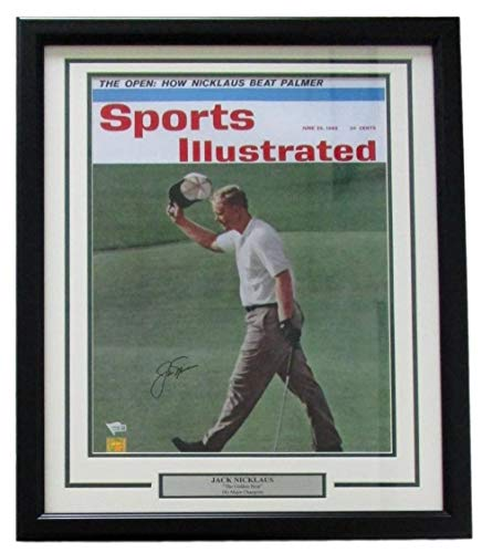 Jack Nicklaus Autographed Signed Framed Sports Illustrated June 1962 16x20 Photo Fanatics - Certified Authentic
