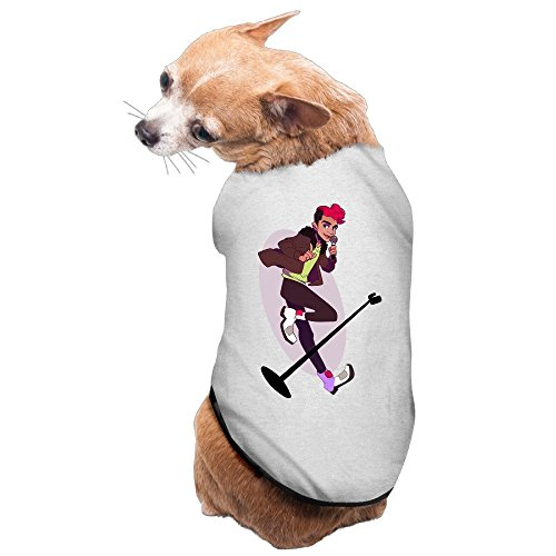 [Greenday Painting Lead Vocal Cute Pet Doggie Pets Costumes Size M Gray] (Lawless Costume)