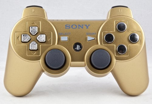 PS3 PLAYSTATION 3 Gold/Chrome Modded Controller (Rapid Fire) COD Black Ops 2- QUICKSCOPE, JITTER, DROP SHOT, AUTO AIM (Call Of Duty Black Ops 2 Sniper Rifles)