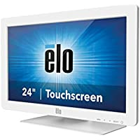Elo E263686 Desktop Touchmonitors 2401LM IntelliTouch 24 LED-Backlit LCD Monitor, White