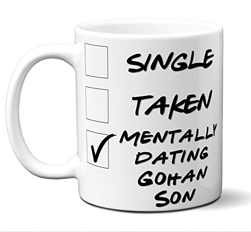 Funny Gohan Son Cosplay Costume Lover Mug, Coffee, Tea Cup. Ideal Novelty Gift for Dragon Ball Z Fans Manga, Otaku, Japan, Naruto, Japanese Anime Lovers. 11 oz.]()