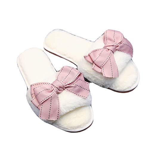Starttwin In Pantofole Peluche Casa Calde Donna Da Bianco Invernali rr4xaqR