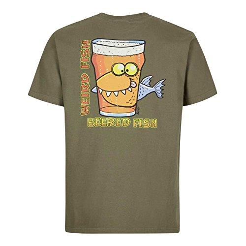 Weird Fish Mens Beered Fish T-Shirt - (Weird Fish)