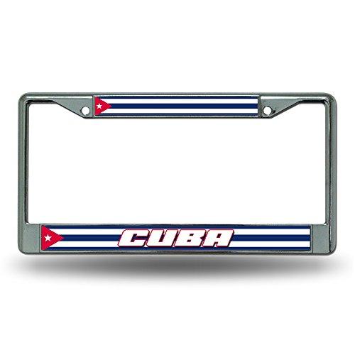 Rico Cuba National Soccer Team Standard Chrome License Plate Frame