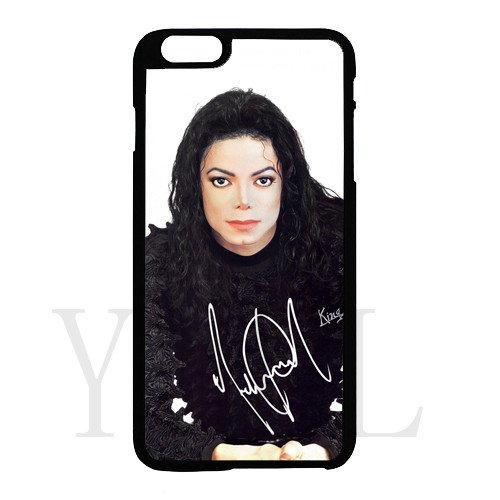 [Michael Jackson signed HD image phone cases for iPhone 6 plus(tpu soft case)] (Michael Jackson Black Or White Costume)