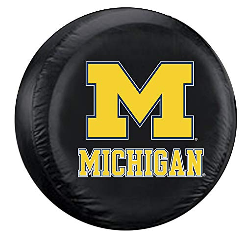 Fremont Die NCAA Michigan Wolverines Tire Cover, Standard Size (27-29