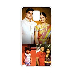 Happy India Family Cell Phone Case for Samsung Galaxy Note4