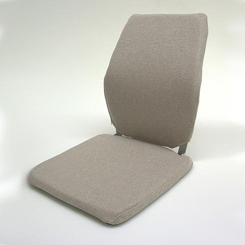 Deluxe Memory Foam Back Cushion Finish: Brown