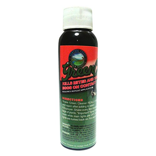 Green Cleaner All Natural, Spider Mite, Aphid, and Whitefly Pest Control, 4oz concentrate by Green Cleaner