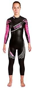 Mako Naïad 2017 Traje de Neopreno para triatlón, Mujer, Rosa, Talla S