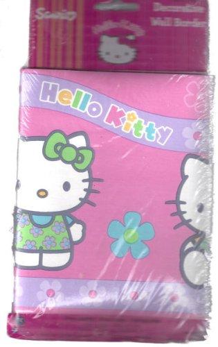 - Hello Kitty Decorative Wall Paper Border Sanrio