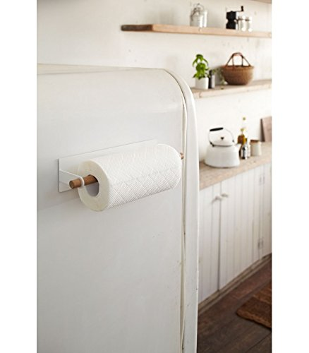 YAMAZAKI home Tosca Magnetic Paper Towel Holder