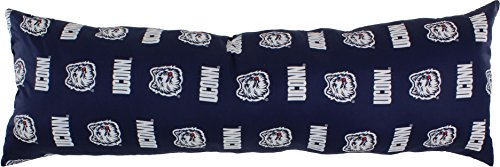 College Covers Connecticut Huskies Printed Body Pillow, 20