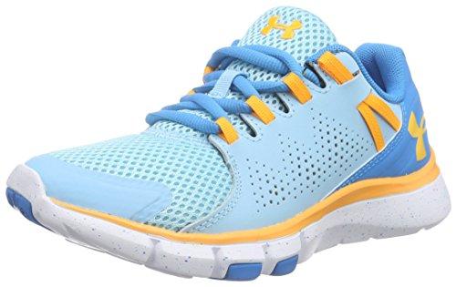 Under Armour Women's Ua W Micro G Limitless Tr Fitness Shoes Bleu (Skb/Dob/Yzo 914)