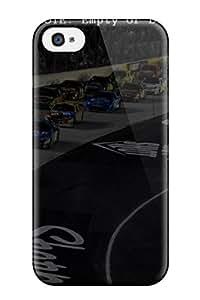 Pretty XIGGBbB4334ESzgK Iphone 4/4s Case Cover/ Nascar Series High Quality Case