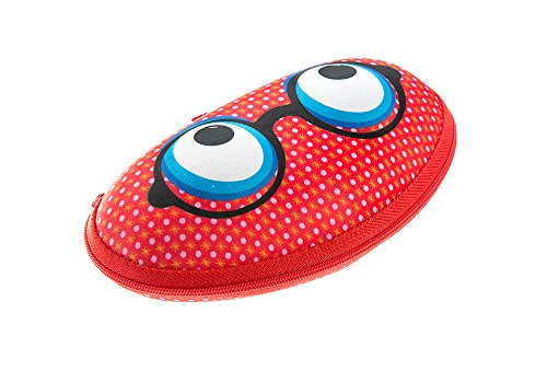 ZIPIT Beast Box Glasses Case, Red