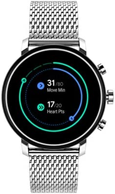 Movado Connect 2.0 Unisex Powered with Wear OS by means of Google Stainless Steel and Stainless Steel Smartwatch, Color: Silver (Model: 3660032)
