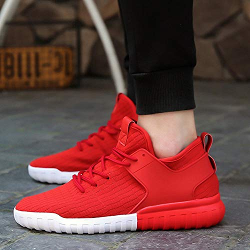 Respirant Rouge Couple Hommes Couples Alikeey Femmes Chaussures Mode Casual Tiss qPZgRRwvt