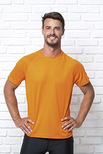 Marchio Jhk - modello t-shirt jhk urban sport / Home Shop Italia (Arancio, L)