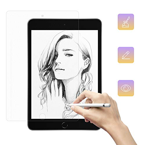 Nillkin Write Like Paper Screen Protector for iPad Mini 4/Mini 5 2019,Write, Draw and Sketch on Paper Screen Protector Matte Original Anti Glare Scratch Resistant Film for iPad Mini 4/Mini 5 2019
