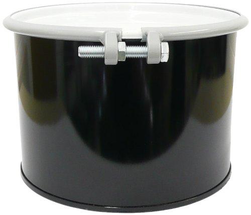 SKOLNIK Carbon Steel Open Head Drum, 5 gallons, Bolt Ring, 0.9mm Body Gauge (Pack of 1)