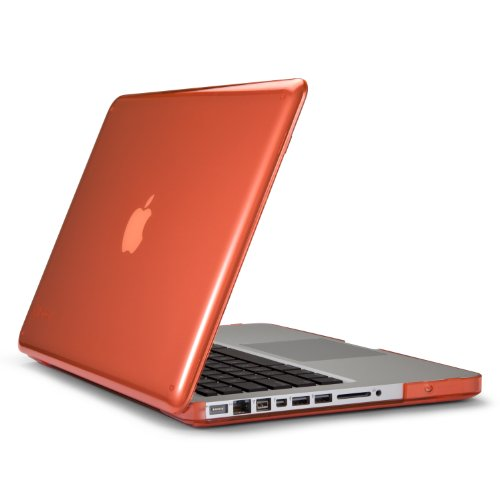 (Speck Products SeeThru Case for 13-Inch MacBook Pro, Wild Salmon - Not for Retina Macbook)