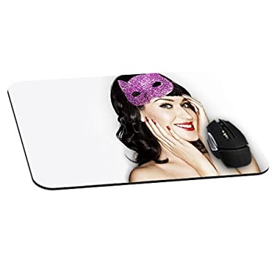 Smile Katy Perry Mousepad actor actress celebrity Mouse Pads Personality Mat Unique Design Custom Mousemat